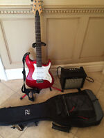 Samick Electric Guitar & Amp