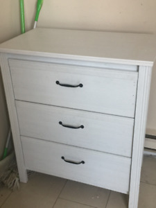 White Drawer Chest