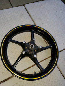 2006  to  2018 yamaha  r6  rims
