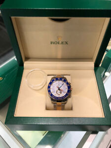 Rolex Yacht-Master ll Two-Tone 18K Rose Gold 44mm, White Dial