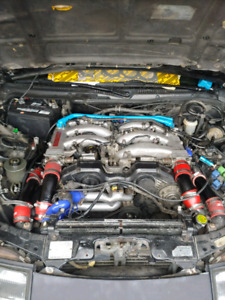 Nissan 300zx engine and parts