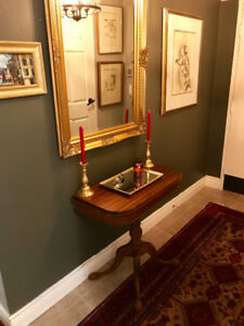 Fully Restored Antique Foyer Table