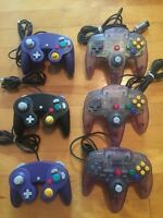 N64 and Gamecube controllers