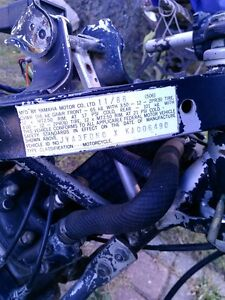 YAMAHA YSR50 WITH DT200 ENGINE PARTING IT OUT OR SELL IT AS IS Windsor Region Ontario image 7