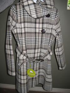 Manteau d'hiver femmes en laine Soia Kio 8 ans