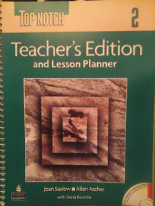TEACHERS  EDITION AND LESSON PLANNER 2