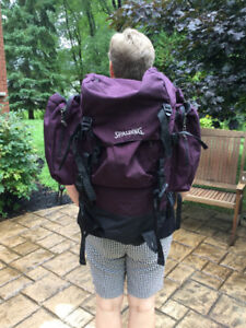 Hiking/Tripping backpack Spalding 25x12x9 inch