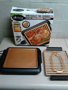 New in Box- Gotham Steel Electric Smokeless Grill & Griddle