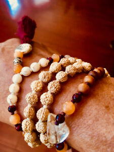 Handcrafted mala beads/high quality materials