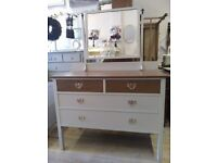Amazing vintage Dressing Table with Mirror.