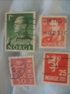 Selling My Stamp Collection,--Norway Lot