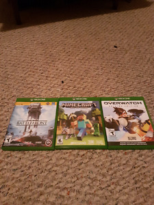 Xbox One Mint Condition Games