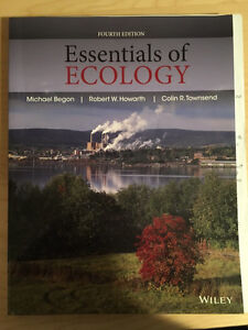 ***ESSENTIALS OF ECOLOGY 4th EDITION***