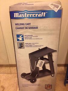 Brand new welding cart