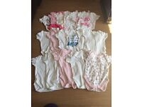 Baby clothes 0 to 3 months. Girl
