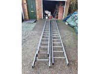 Treble 29 aluminium ladder