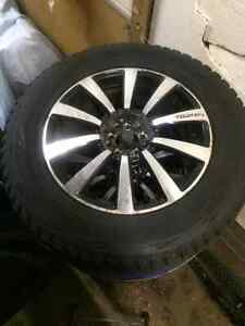2010 Ford Edge winter tires and rims /$500 obo London Ontario image 2