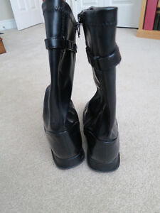 Girls fashion boots size 3W Kitchener / Waterloo Kitchener Area image 3