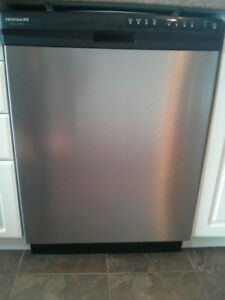 Frigidaire Gallery dishwasher in stainless steel