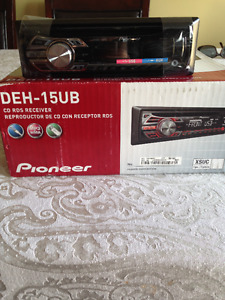 Pioneer Car stereo - New