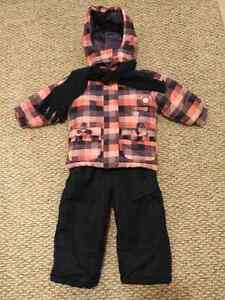 Toddler girl snowsuit size 2/3