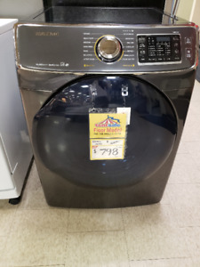 Samsung 7.5 Cu. Ft. Electric Dryer – Black Stainless Steel