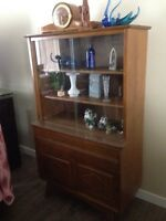 Vintage China cabinet buffet