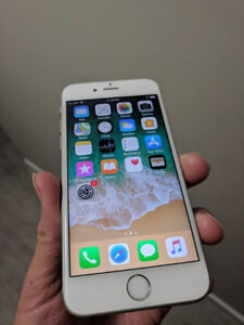 White/Silver Iphone 6S 128 GB INLOCKED - $300 FIRM