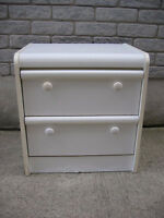 white night stand for sale  ____________________________________