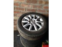 "Vauxhall astra vectra alloy wheels 16"" 5x110"