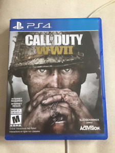 PS4 Call of Duty: WWII (Hardly Used)