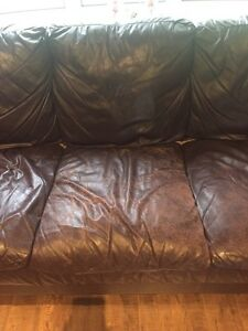 Sofa, love seat and ottoman used