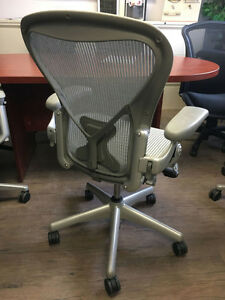 Herman Miller Aeron Chairs - Sizes B & C Starting at $499.00 Peterborough Peterborough Area image 2