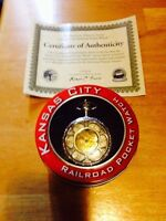 Jesse James pocket watch with Certificate