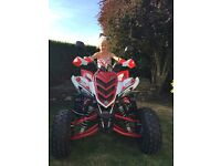 Yamaha raptor 700r special edition with power commander