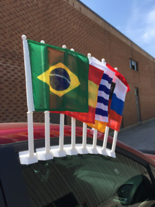 Car Window Flags for 2018 World Cup Teams (Super Quality)
