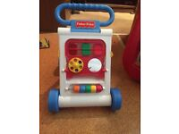 Baby toys & 2 walkers