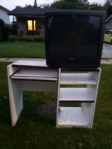 Free TV and computer stand