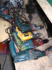 Makita SDS 6 amp /Dewalt percusion Metalbo