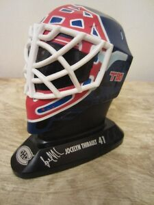 1996 MCDONALD'S MINI MASK - JOCELYN THIBAULT - MONTREAL CANADIEN