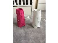 IKEA lamps including led bulbs X 2 £7 each or two for £10