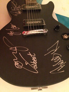 Autographed Volbeat guitar Edmonton Edmonton Area image 1