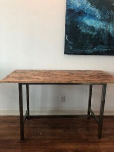 Wooden Kitchen Island Table