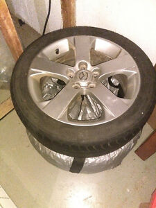 Mazda 5 tires with trim