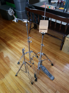 Pearl hihat stand, cymbal stands