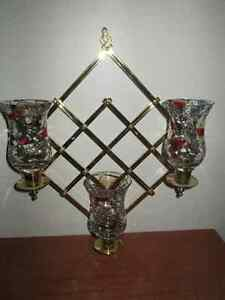 **SOLD**Gorgeous wall mount candle holder
