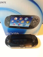 PSP VITA with Walking Dead Game
