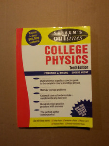College Physics, Schaum's Outlines, 10th Edition