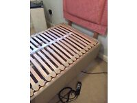 Single electric massage bed