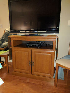 TV stand with deep cupboards
